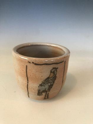 Tiny Shoebill cup