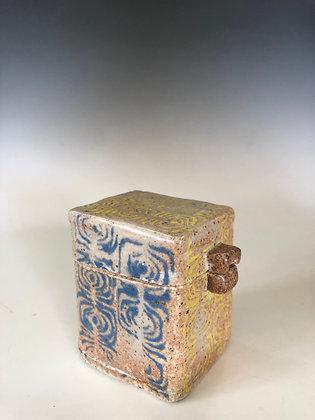 Square Box with Swirls