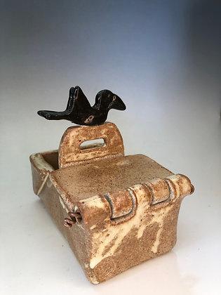 Hinged Crow Box