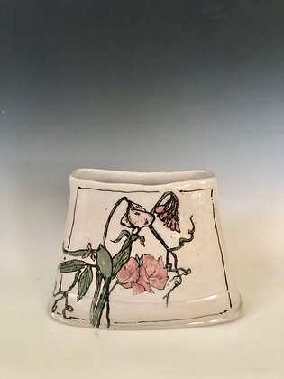 Sweet Pea Windowsill Vase