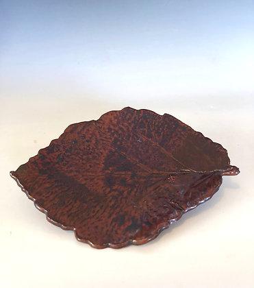 Oval leaf plate