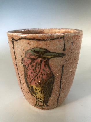 Tiny Green Heron cup