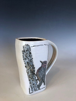 Red Headed Woodpecker mug
