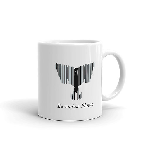 Datavizbutterfly - Barcodum Plotus - Mug