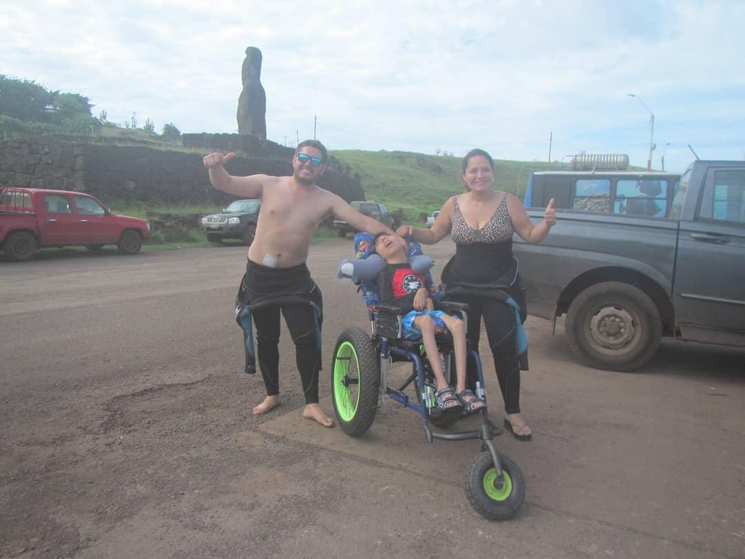 snorkeling discapacidad