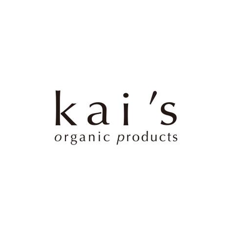 Kai's organic products Logo design