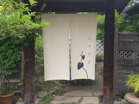 山梨暖簾制作例 CL, 着物乃塩田様