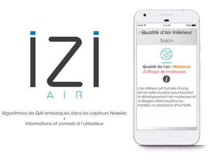 iZiAiR indoor: la solution IoT Nexelec pour la Qualité d'Air Intérieur