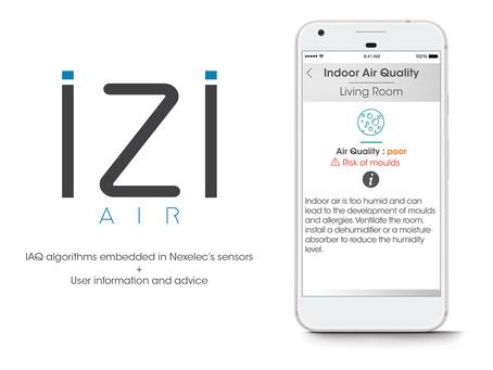 iZiAiR indoor: Nexelec's IoT solution for Indoor Air Quality (IAQ)