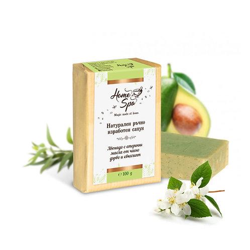 Авокадо с масла от чаено дърво и евкалипт
