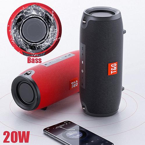 Portable Bluetooth 10w Wireless Bass Waterproof  Speaker AUX TF USB Loudspeaker