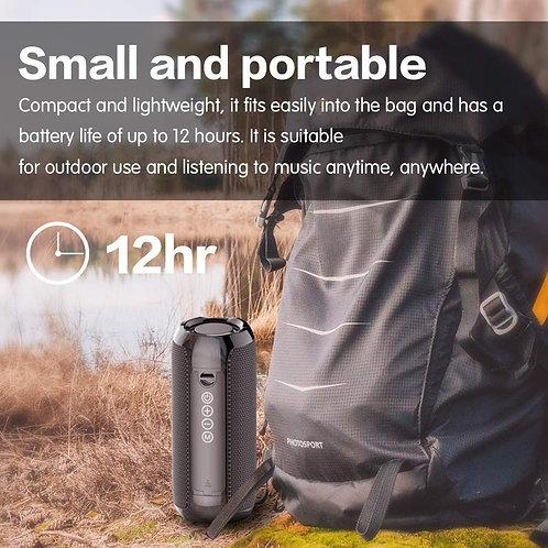 Portable Bluetooth 20w Wireless Bass Waterproof  AUX TF USB Stereo Loudspeaker