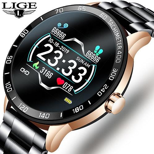 2020 Men  Waterproof iPhone Heart Rate Monitor Smartwatch Fitness Tracker