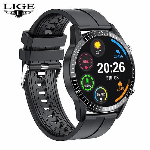 LIGE 2020 New Smart Watch Touch Screen Sport Fitness Waterproof Bluetooth US