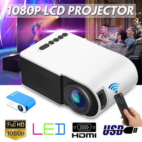 7000 Lumens 1080P Mini Projctor LED 3D Video Multimedia Home Theater Projector