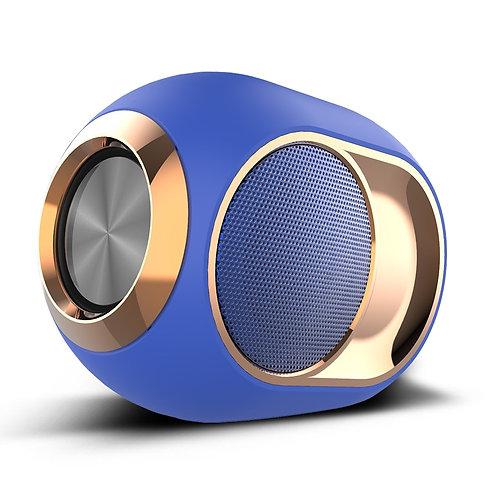Bluetooth 5.0 Wireless Loudspeaker TWS Portable Waterproof Outdoor TF AUX USB FM