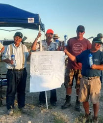 High Desert Pointing Dog Clb Members At Annual Clay Pigeon Shoot