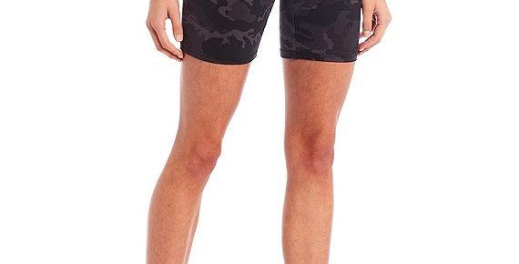 Biker Shorts Camo Black