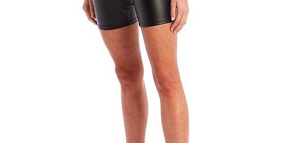 Biker Shorts Sheen Black
