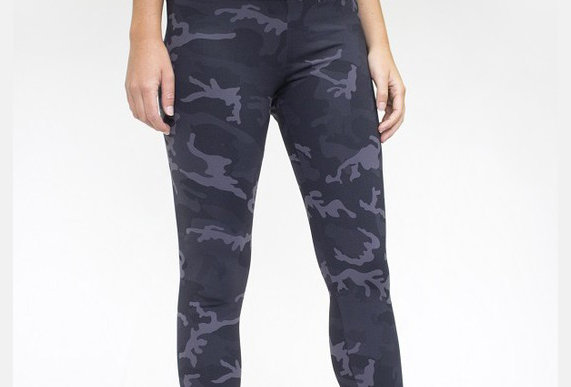 Luxe Legging Charcoal Camo