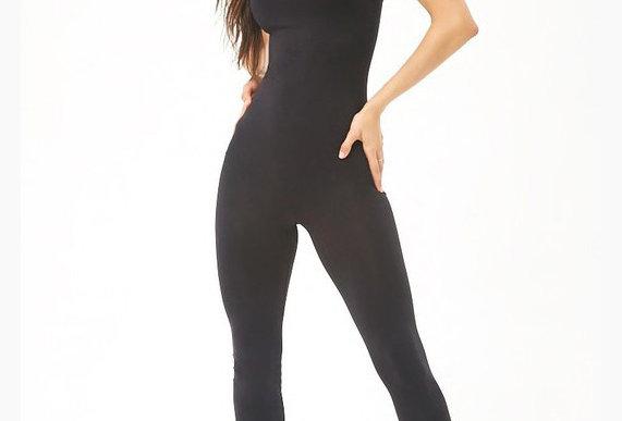 Seamless Bodysuit Black