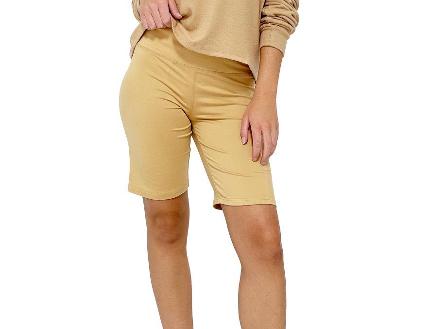 Biker Shorts Tan