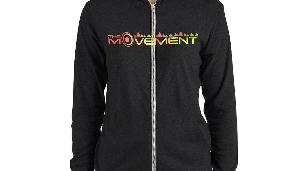 TMVT Unisex zip hoodie