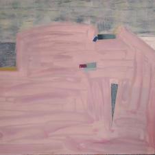 Mirage (part I), oil on canvas, 100 W x 80 H cm, 2019