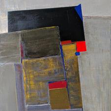Concrete wall. oil on canvas, 60 W x 80 H cm, 2020