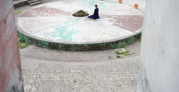 Yaryna Shumska, Corviale, Roma, 2021. Courtesy Latitudo Art Projects per Magic Carpets Platform. Photo ©Marina Pietrocola
