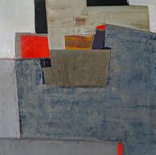 Concrete. oil on canvas, 60 W x 80 H cm. 2020