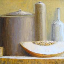 Still life. oil on canvas, 80 W x 60 H cm. 2012