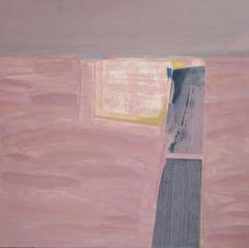 Mirage (part II), oil on canvas, 100 W x 80 H cm, 2019