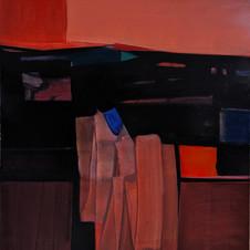 Landscape-2, oil on canvas, 70 W x 80 H cm, 2020