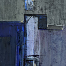 Wet eyes. Oil, on canvas, 50 W x 60 H cm, 2020