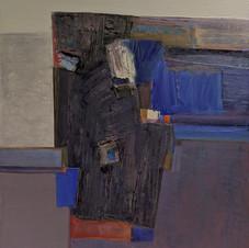 Jazz concert. Oil on canvas, 70 W x 80 H cm. 2021