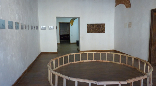 The view of the exhibition.