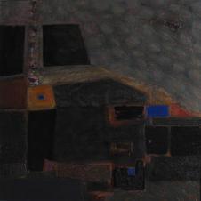 Suburbs 2 . oil on canvas. 75х75 сm. 2008