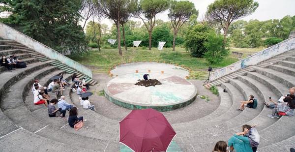 Yaryna Shumska, Corviale, Roma, 2021. Courtesy Latitudo Art Projects per Magic Carpets Platform. Photo ©Luis do Rosario
