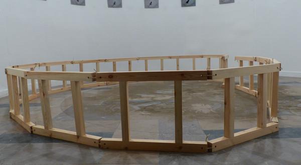 One way movement. Rotunda Gallery, Poznan, Poland. 2013.