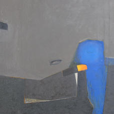 Lamps 1, oil on canvas, 130 W x 130 H cm, 2013