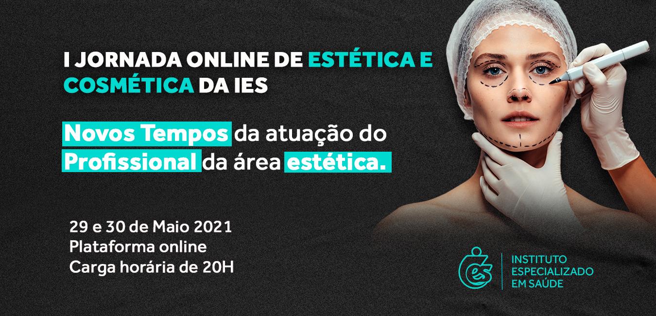 I JORNADA ONLINE DE ESTÉTICA E COSMÉTICA