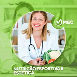 NUTRIÇÃO ESPORTIVA E ESTÉTICA