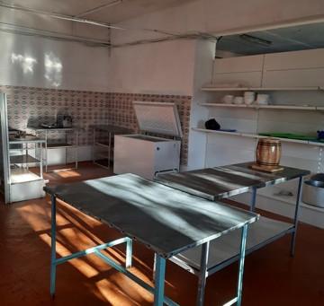 Заёмщик Фонда развития промышленности Забайкалья организовал питание в сельской школе