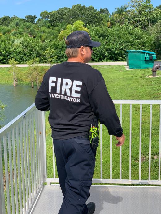 fire investigator Kloss