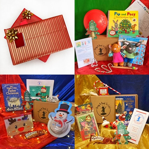 Believe in the Magic of Christmas Triple Box (both soft toys in 3+ box)