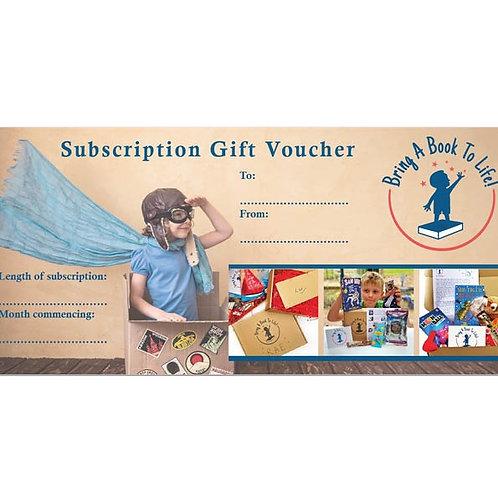 Subscription Voucher 12 months Family Box