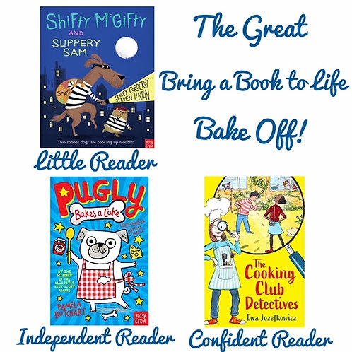 The Great Bring a Book to Life Bake Off Family Box
