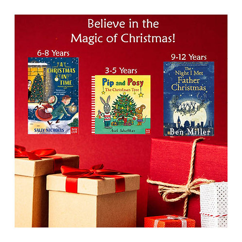 Believe in the Magic of Christmas Family Box BOTH PIP and POSY