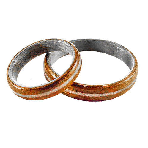 Harewood / Walnut / Magnesite Inlay